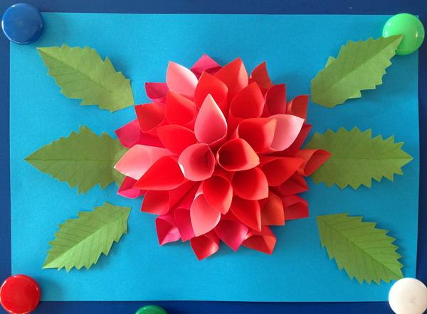 Поделки из бумаги для цветов 137